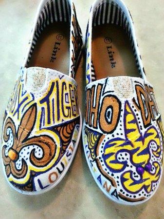 LSU shoes